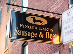 Finger Lakes Sausage and Beer